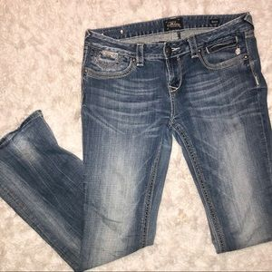 Like new Broken in Bedrock for Express Jeans